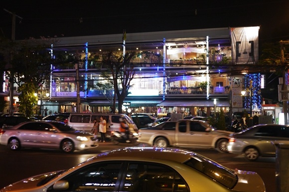 Navigating Bangkok at night is an art unto itself...