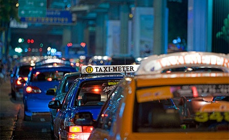 We've had some pretty panicky Bangkok taxi rides over the last 24 hours...